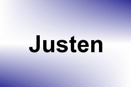 Justen name image