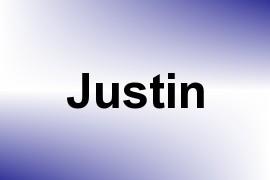 Justin name image