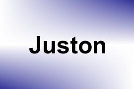 Juston name image