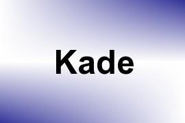 Kade name image