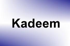 Kadeem name image