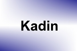 Kadin name image