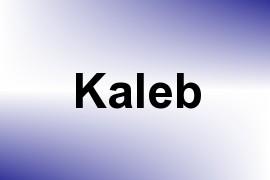 Kaleb name image
