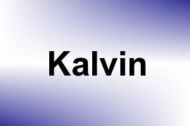 Kalvin name image
