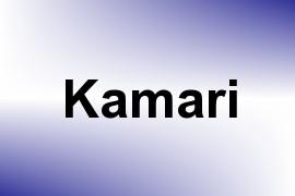 Kamari name image