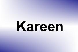 Kareen name image