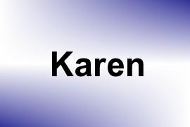 Karen name image