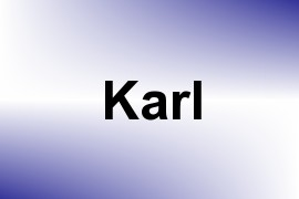 Karl name image