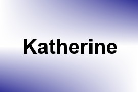 Katherine name image