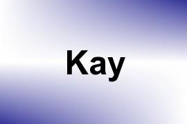 Kay name image