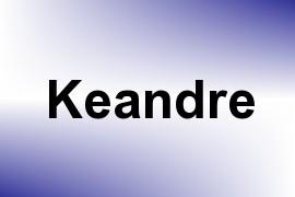 Keandre name image