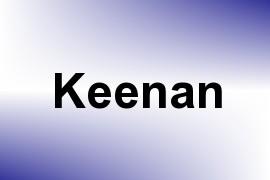 Keenan name image
