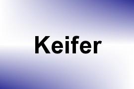 Keifer name image