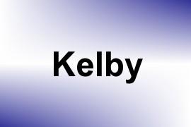 Kelby name image