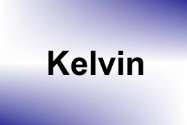 Kelvin name image