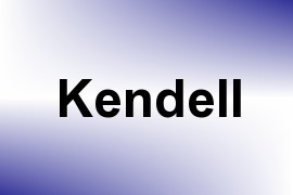 Kendell name image