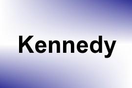 Kennedy name image