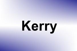 Kerry name image