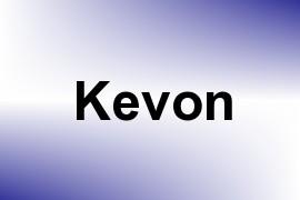 Kevon name image