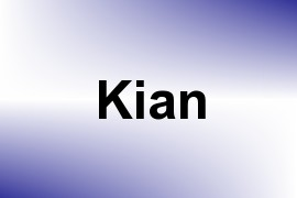 Kian name image