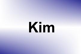 Kim name image