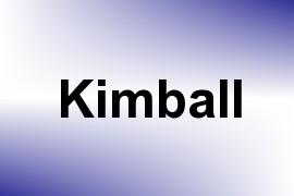Kimball name image