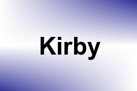 Kirby name image
