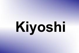 Kiyoshi name image