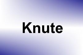 Knute name image