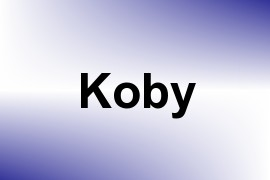 Koby name image