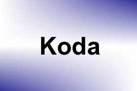 Koda name image
