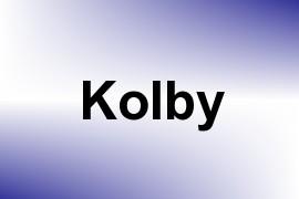 Kolby name image