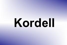 Kordell name image