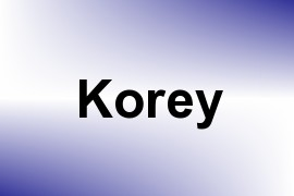 Korey name image