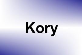 Kory name image