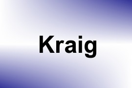 Kraig name image