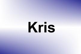 Kris name image