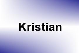 Kristian name image