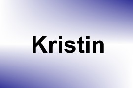 Kristin name image