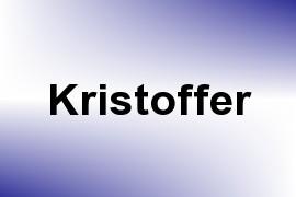 Kristoffer name image