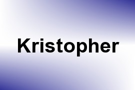 Kristopher name image