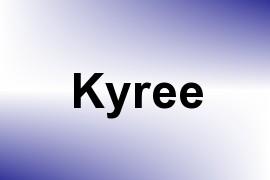 Kyree name image