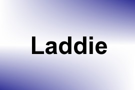 Laddie name image