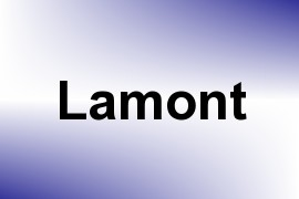 Lamont name image