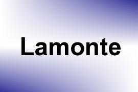 Lamonte name image