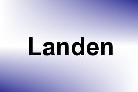 Landen name image