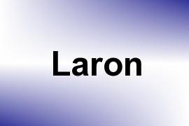 Laron name image