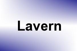 Lavern name image