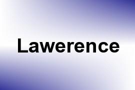 Lawerence name image