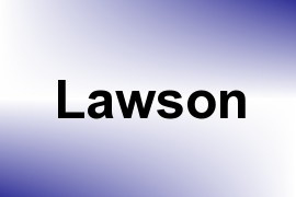 Lawson name image